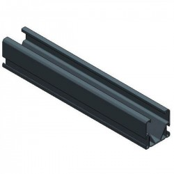 Alu Side++ profile L3140 mm - black