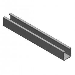 Alu profile steel corrug roofs L220mm