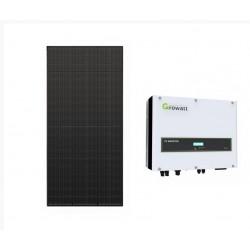 Solcellspaket 10 paneler liggande och stående TP20