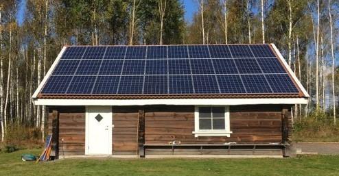 solcelsanlägning lät att bygga själv